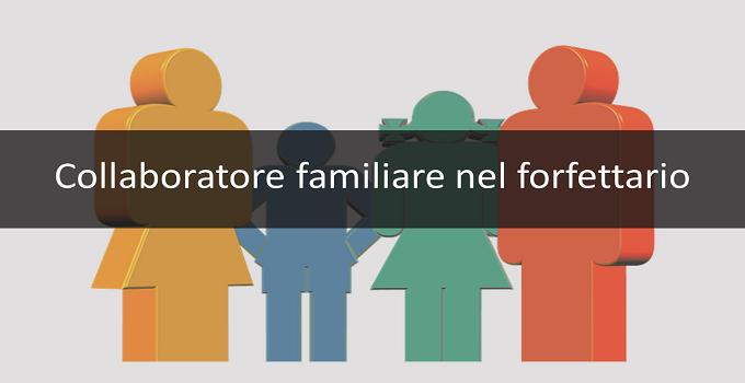 Collaboratori familiari nel regime forfettario