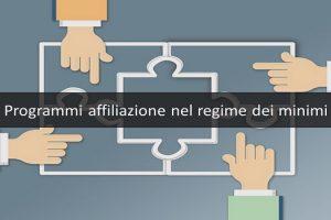 programmi affiliazione nel regime dei minimi