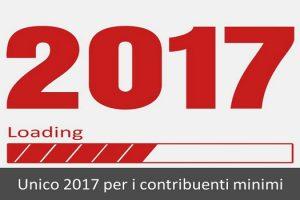 unico 2017 per i contribuenti minimi