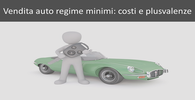 automobile partita iva minimi