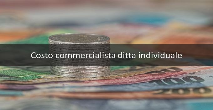 Costo commercialista ditta individuale
