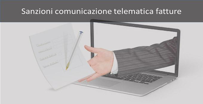 sanzioni comunicazione telematica fatture