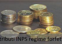 contributi INPS regime forfettario