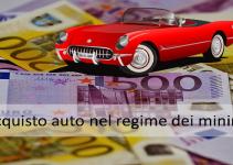 Acquisto auto regime dei minimi