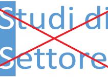 abolizione studi di settore