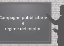 campagne pubblicitarie e regime dei minimi