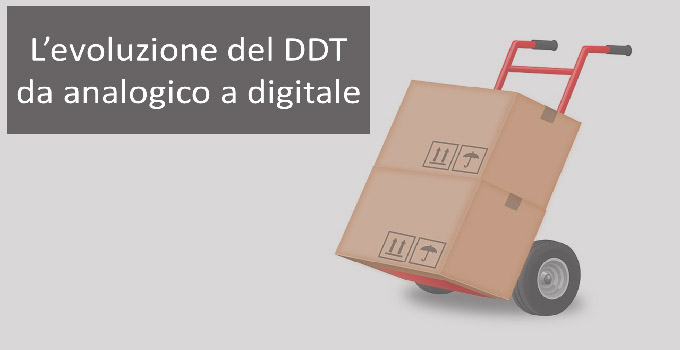 Documento di trasporto da analogico a digitale