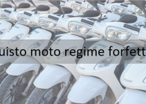 acquisto moto regime forfettario