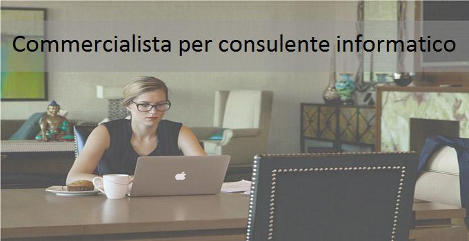 Commercialista per consulente informatico