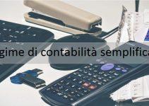 regime contabilità semplificato
